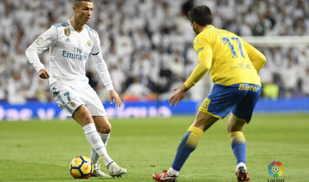 Real Madrid banket Las Palmas i går